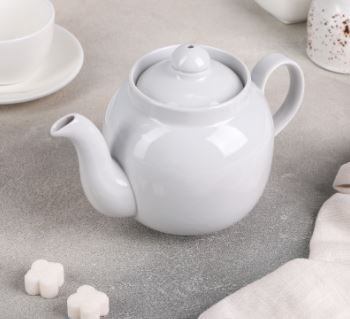 "Чайник 700 мл ""Янтарь"", цвет белый - фото 565228"