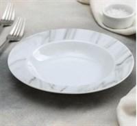 {{photo.Alt || photo.Description || 'Тарелка суповая Доляна «Мрамор», 300 мл, d=21 см, цвет серый'}}